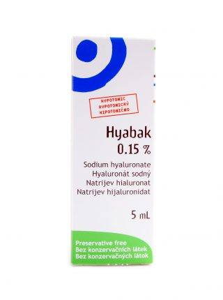 Hyabak kapljice za oči
