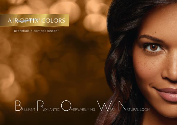 Air Optix Colors barvne kontaktne leče Optika Irman
