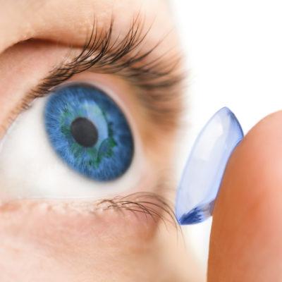 Kako vstavim/odstranim kontaktne leče?