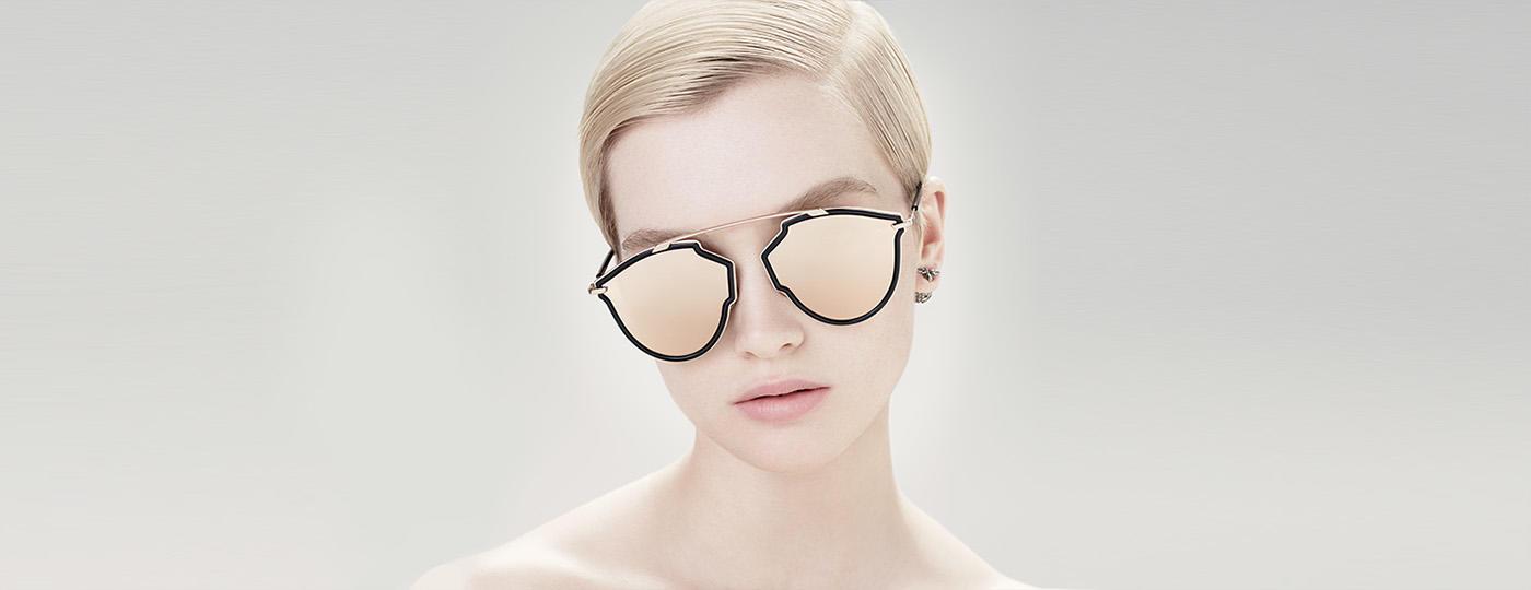 DiorSoRealRise sunglasses rose gold