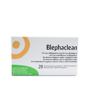 Blephaclean krpice za nego vek in občutljive kože