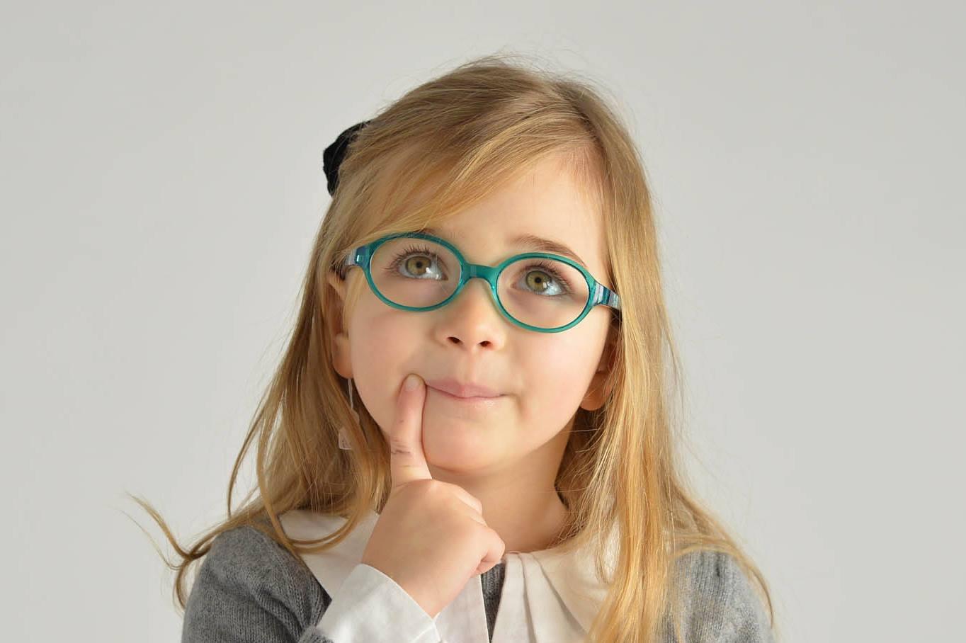 Vid in očala pri dojenčkih in predšolskih otrocih